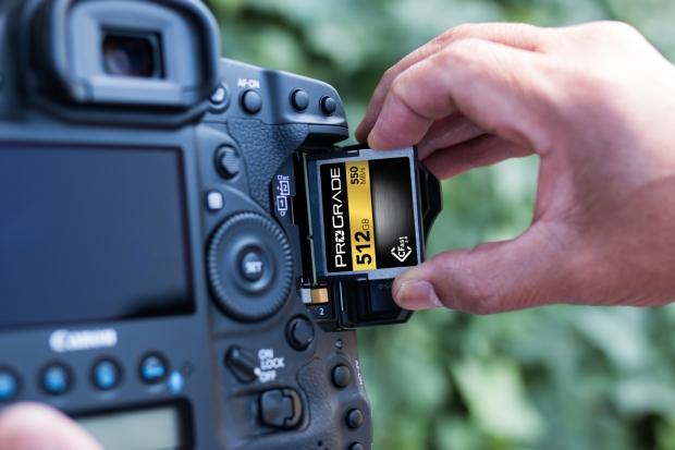ProGrade Canon aparat