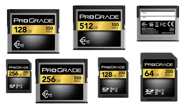 ProGrade karty pamięci