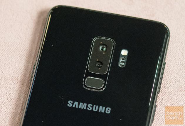 Tylne aparaty w Samsung Galaxy S9+