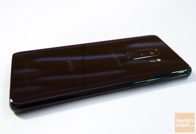 Samsung Galaxy S9+ tylna ścianka i krawędź