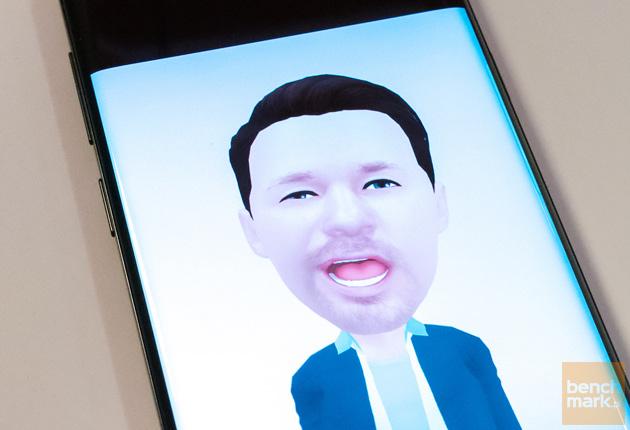 Samsung Galaxy S9+ awatar Emoji AR