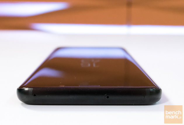 Samsung Galaxy S9+ górna krawędź
