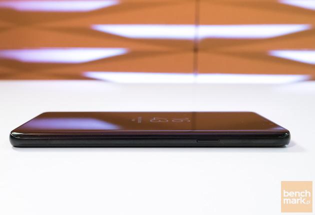 Samsung Galaxy S9+ prawa krawędź