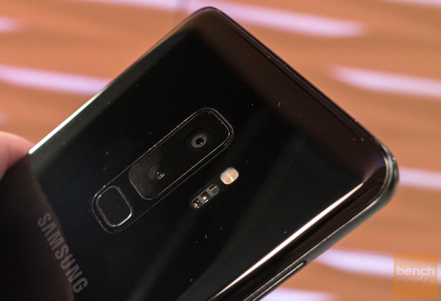 Samsung Galaxy S9+ aparaty i czytnik linii papilarnych