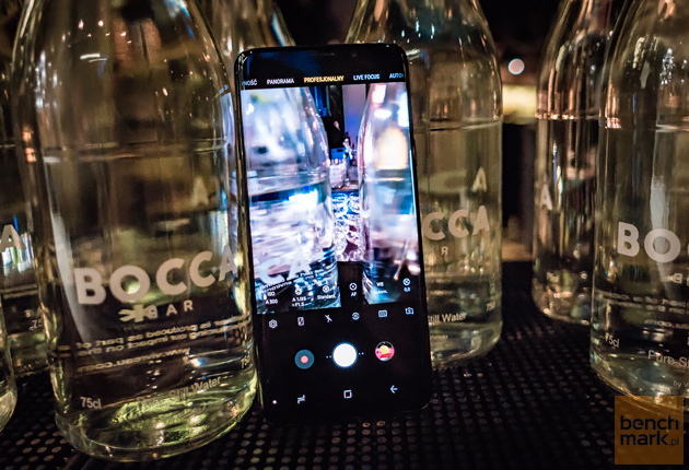 Samsung Galaxy S9+ lifestyle przód