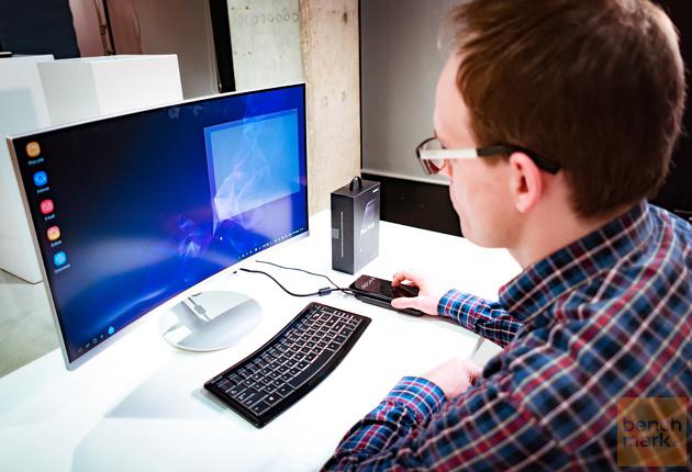 Samsung DeX stanowisko pracy