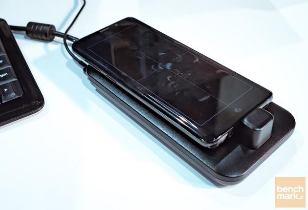 Samsung Galaxy DeX - stanowisko pracy gładzik