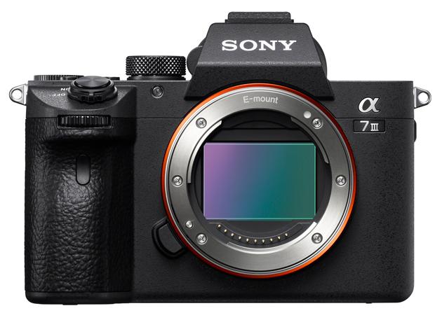Sony A7 III przód sensor