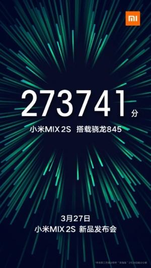 Xiaomi Mi Mix 2S data premiery