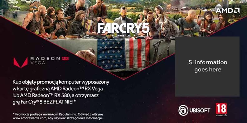 AMD - Far Cry 5 promocja