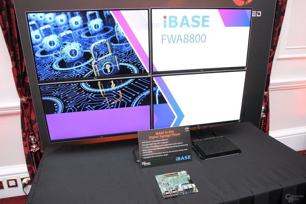 AMD Ryzen Embedded V1000 - platforma