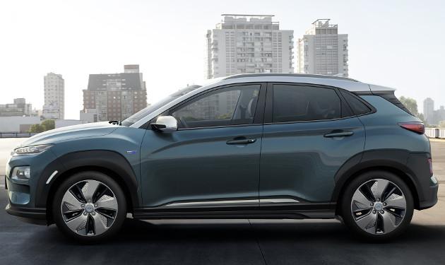 Hyundai Kona Electric bok
