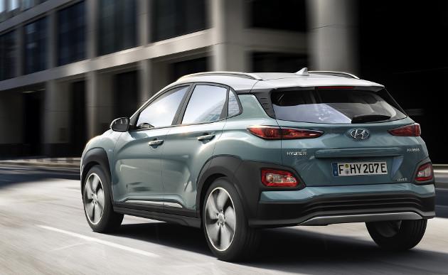 Hyundai Kona Electric tył