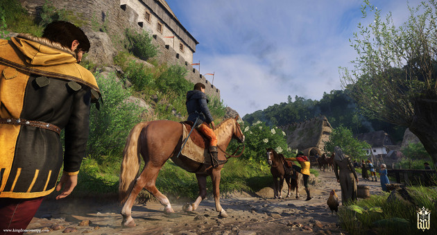 Kingdom Come: Deliverance screen miasto