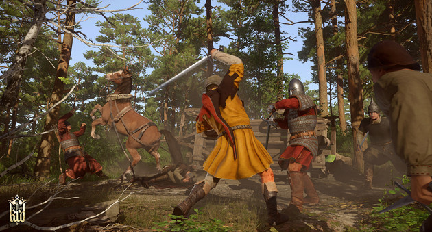 Kingdom Come: Deliverance screen walka