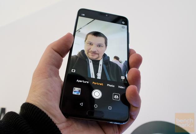 Huawei P20 wyświetlacz