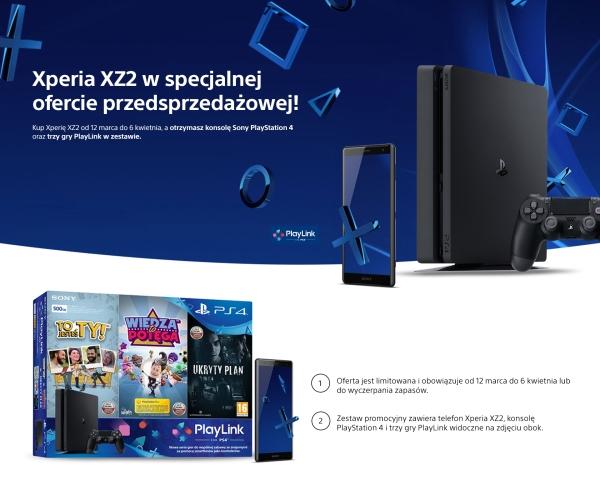 przedsprzedaż Sony Xperia XZ2
