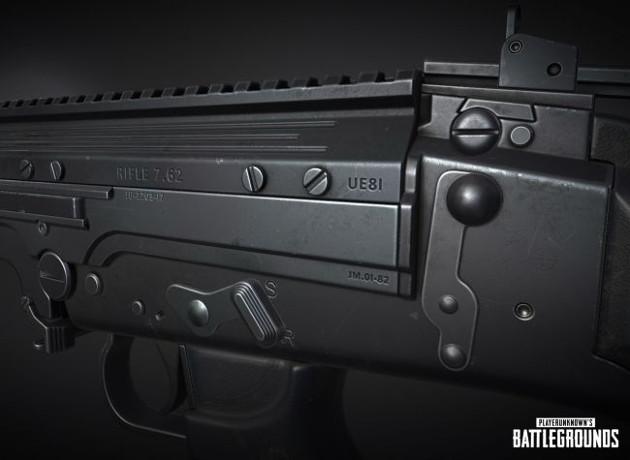 PUBG broń 2018