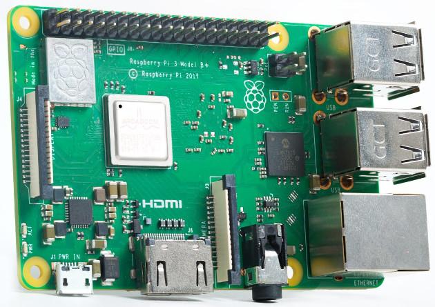 Raspberry Pi 3 B+ wygląd