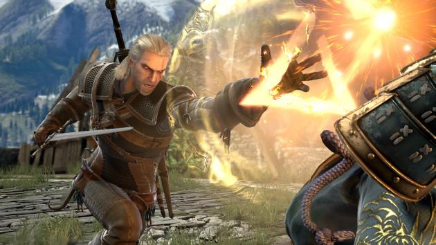 Soulcalibur VI Geralt screen 1