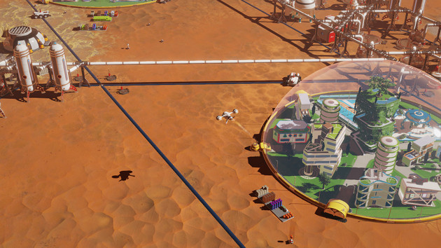 Surviving Mars strategia