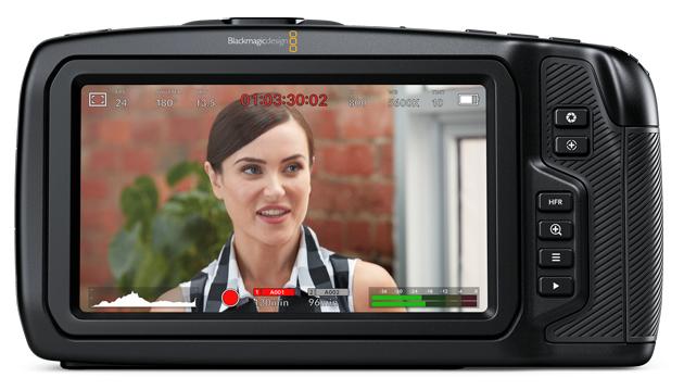 Blackmagic Pocket Cinema 4K ekran LCD