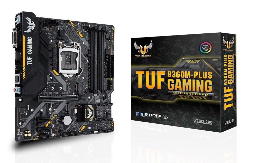 ASUS TUF B360M PLUS Gaming
