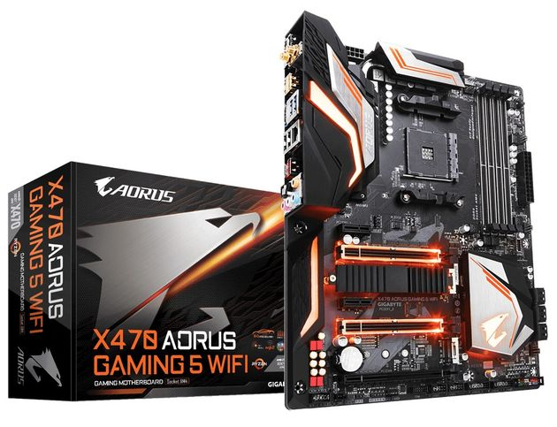 Gigabyte Aorus X470 Gaming 5 WiFi