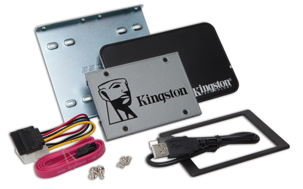 Kingston UV500 - zestaw