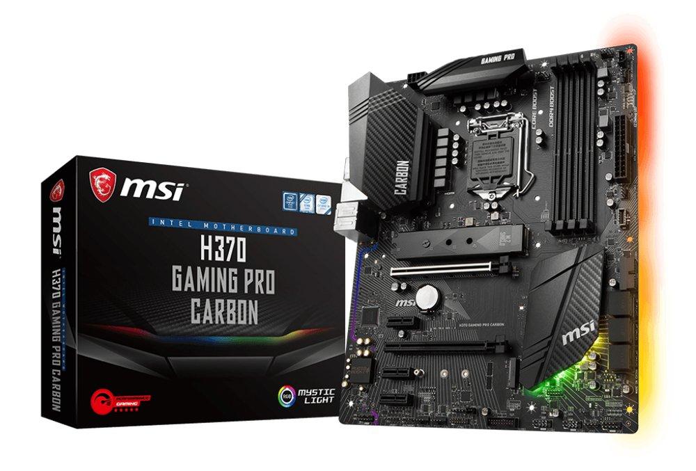 MSI H370M Gaming Pro Carbon