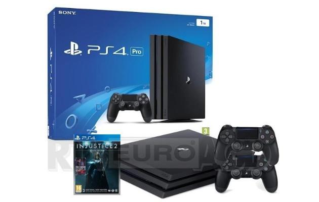 PlayStation 4 Pro, Injustice 2 i 2 pady