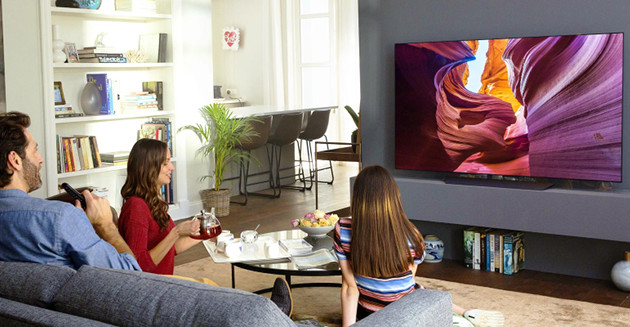 LG AI TV rodzina