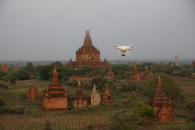 Open Heritage dron