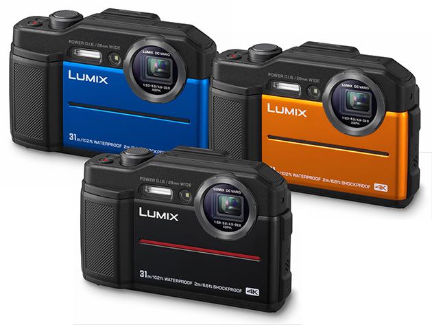 Panasonic Lumix FT7 wersje kolorystyczne
