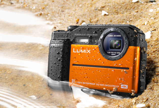 Panasonic Lumix FT7 piasek
