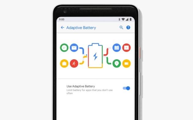Android P bateria