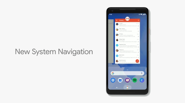 Android P nowy interfejs