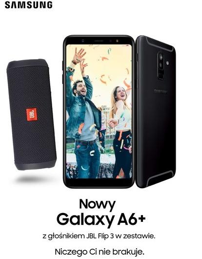 Galaxy A6+ z głośnikiem