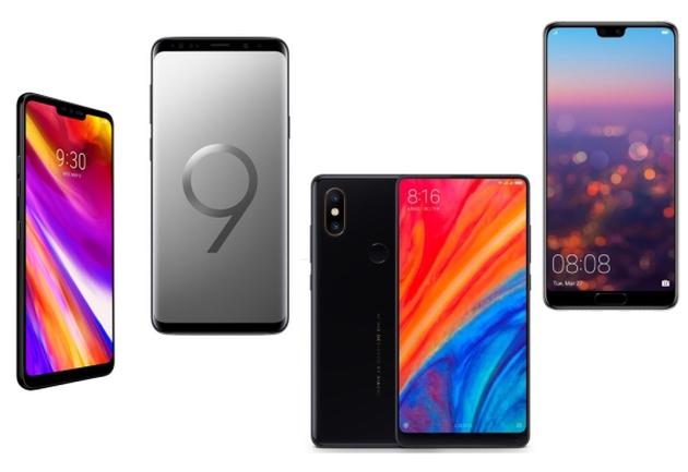 LG G7 ThinQ porównanie
