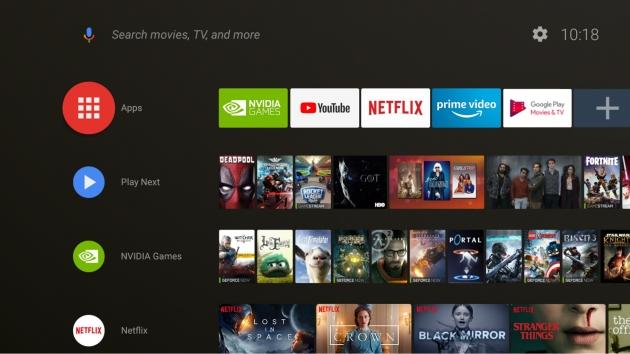 NVIDIA SHIELD TV Android 8.0 Oreo