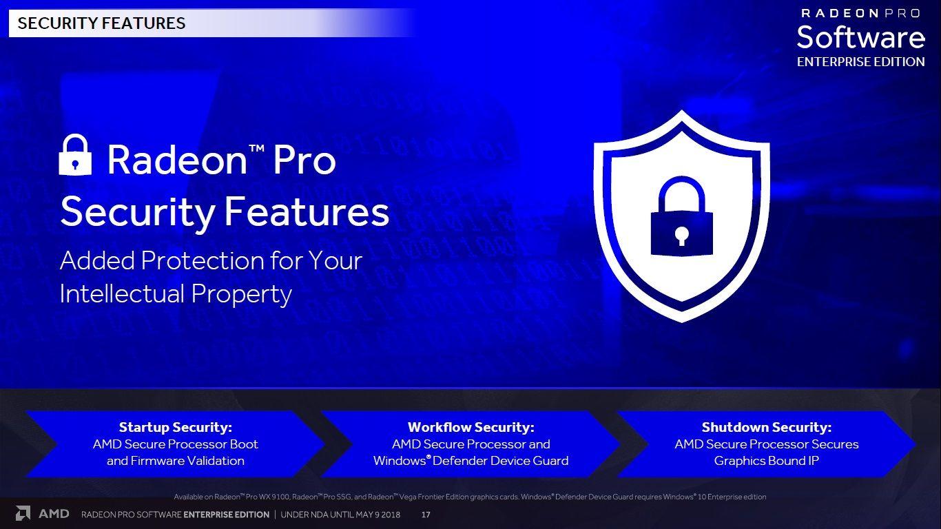 AMD Radeon Pro Software Enterprise Edition 18.Q2
