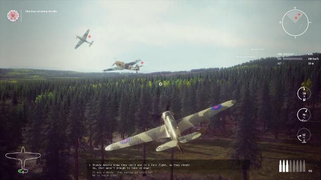 303 Squadron: Battle of Britain screen 2