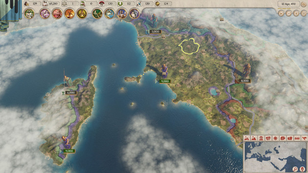 Imperator: Rome screen 1