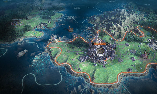 Age of Wonders: Planetfall screen 1