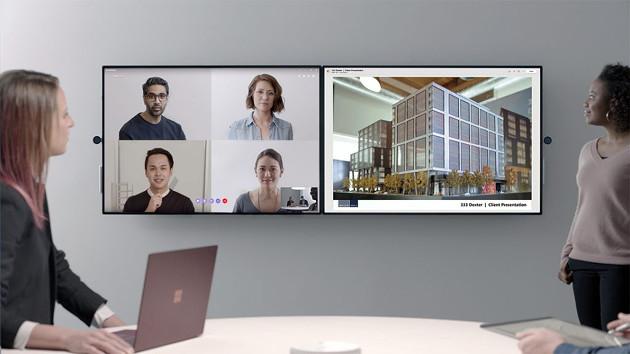 Microsoft Surface Hub 2 funkcje