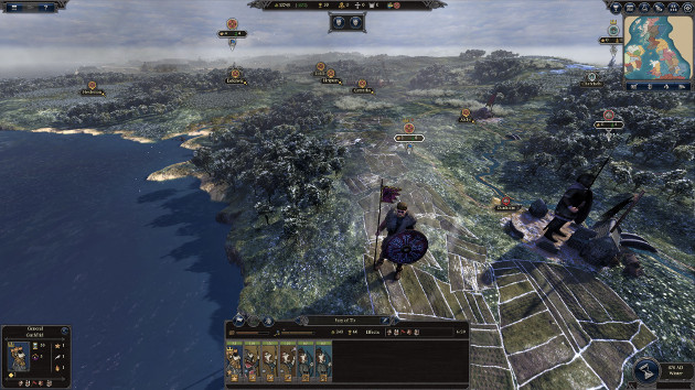 A Total War Saga: Thrones of Britannia screen