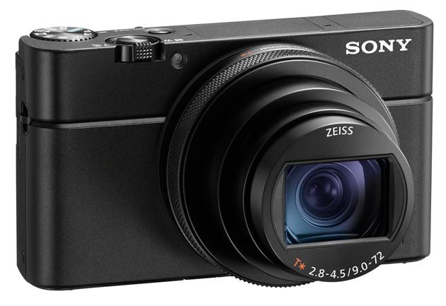 Sony RX100 VI przód bok