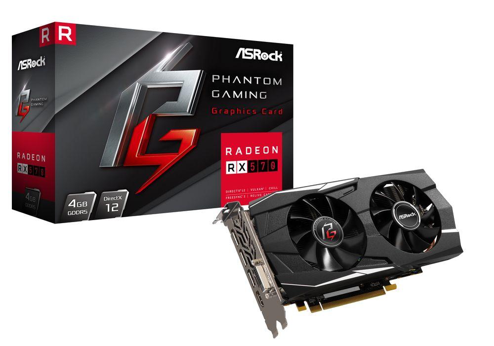ASRock Phantom Gaming D Radeon RX570 4G