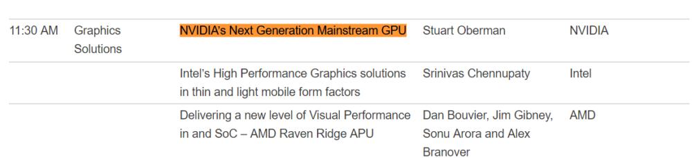 Hot Chips 30 - konferencja Nvidii