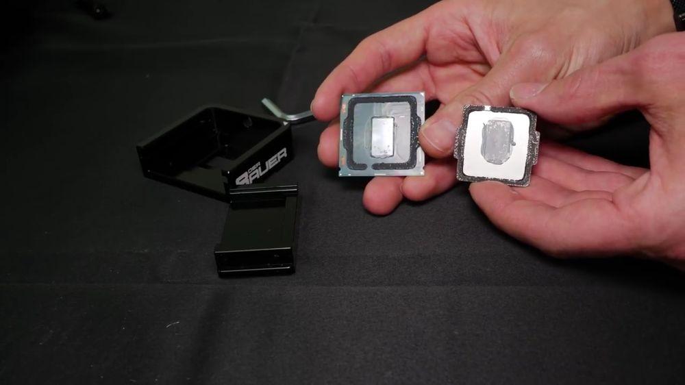 Intel Core i7-8086K delidding